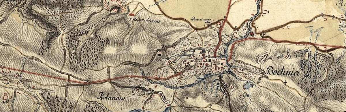 Mapa Galicji 1779 1783